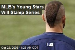 MLB's Young Stars Will Stamp Series