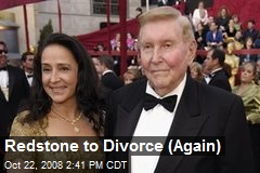 Redstone to Divorce (Again)