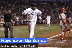 Rays Even Up Series