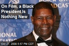 On Film, a Black President Is Nothing New