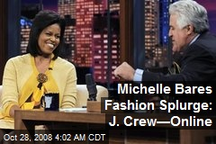 Michelle Bares Fashion Splurge: J. Crew—Online