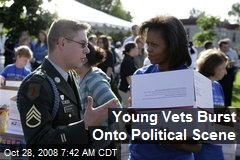 Young Vets Burst Onto Political Scene