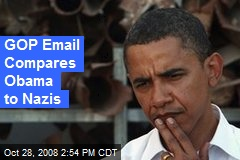 GOP Email Compares Obama to Nazis