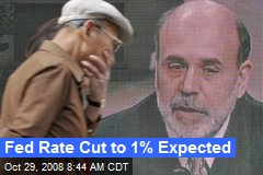 Fed Rate Cut to 1% Expected