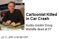 Cartoonist Killed in Car Crash