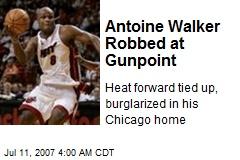 Antoine Walker Robbed at Gunpoint