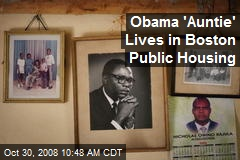 Obama 'Auntie' Lives in Boston Public Housing