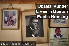 Obama 'Auntie' Lives in Boston Public Housing