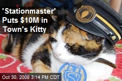 'Stationmaster' Puts $10M in Town's Kitty
