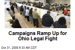 Campaigns Ramp Up for Ohio Legal Fight