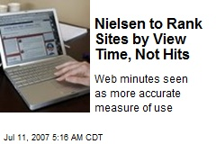 Nielsen to Rank Sites by View Time, Not Hits