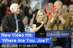 New Video Hit: 'Where Are You, Joe?'