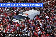 Philly Celebrates Phillies