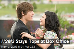 HSM3 Stays Tops at Box Office