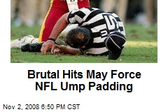Brutal Hits May Force NFL Ump Padding
