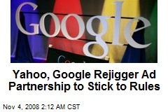 Yahoo, Google Rejigger Ad Partnership to Stick to Rules