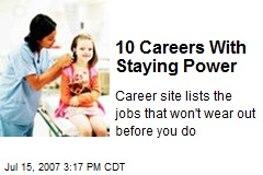 10 Careers With Staying Power