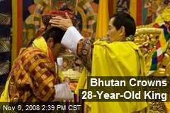 Bhutan Crowns 28-Year-Old King
