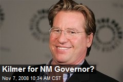 Kilmer for NM Governor?
