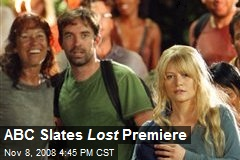 ABC Slates Lost Premiere