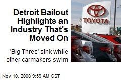 Detroit Bailout Highlights an Industry That's Moved On