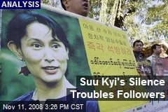 Suu Kyi's Silence Troubles Followers