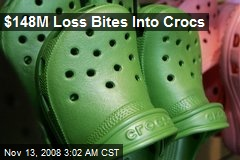 $148M Loss Bites Into Crocs