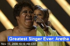 Greatest Singer Ever: Aretha