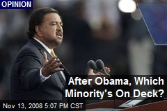 After Obama, Which Minority's On Deck?