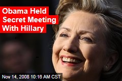 Obama Held Secret Meeting With Hillary