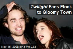Twilight Fans Flock to Gloomy Town