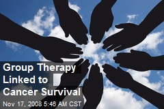 Group Therapy Linked to Cancer Survival