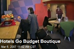Hotels Go Budget Boutique