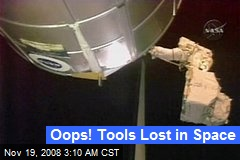 Oops! Tools Lost in Space