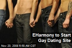 EHarmony to Start Gay Dating Site