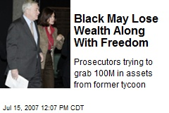 Black May Lose Wealth Along With Freedom