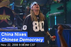 China Nixes Chinese Democracy