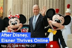 After Disney, Eisner Thrives Online