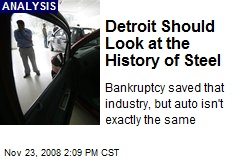 Detroit Should Look at the History of Steel