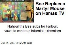 Bee Replaces Martyr Mouse on Hamas TV