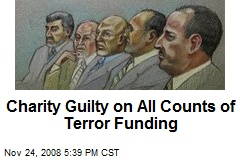 Charity Guilty on All Counts of Terror Funding