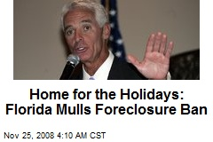 Home for the Holidays: Florida Mulls Foreclosure Ban