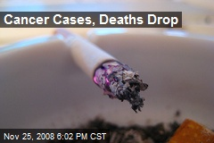 Cancer Cases, Deaths Drop