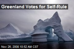 Greenland Votes for Self-Rule