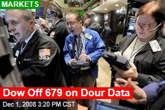 Dow Off 679 on Dour Data