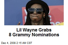 Lil Wayne Grabs 8 Grammy Nominations
