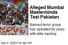 Alleged Mumbai Masterminds Test Pakistan