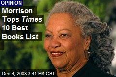 Morrison Tops Times 10 Best Books List