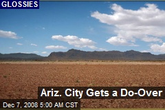 Ariz. City Gets a Do-Over