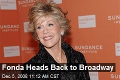 Fonda Heads Back to Broadway
